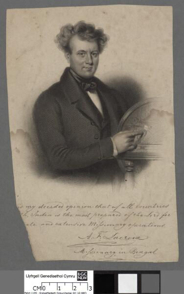 A. F. Lacroix missionary in Bengal