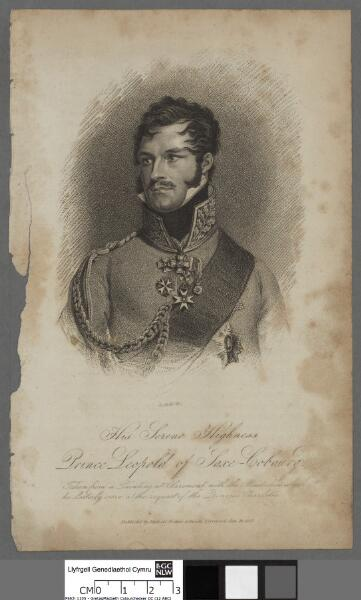 His Serene Highness Prince Leopold of Saxe-Cobourg