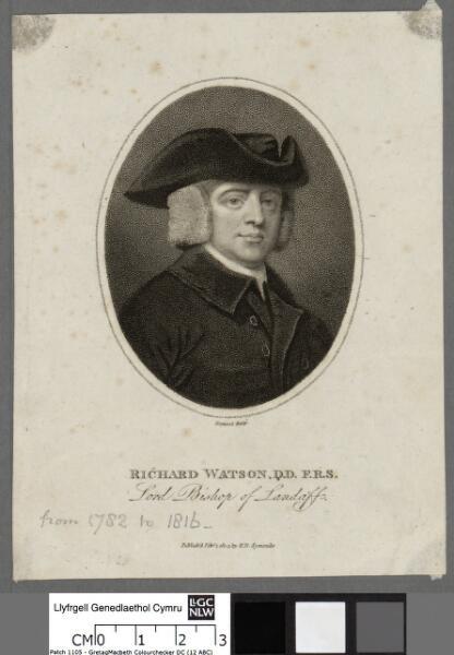 Richard Watson, D.D., F.R.S Lord Bishop of Landaff