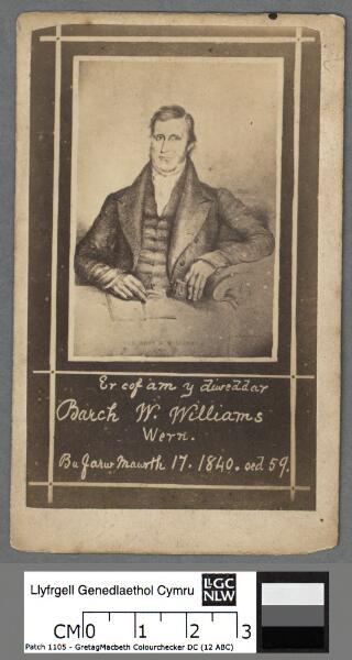 Er cof am y diweddar Barch W. Williams Wern, bu...