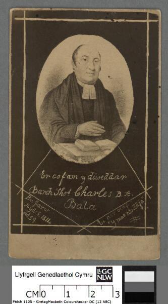 Er cof am y diweddar Barch. Thos. Charles B.A....