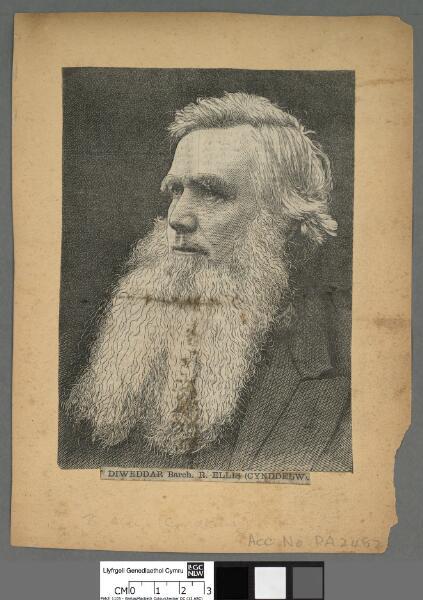 Diweddar Barch. R. Ellis (Cynddelw)