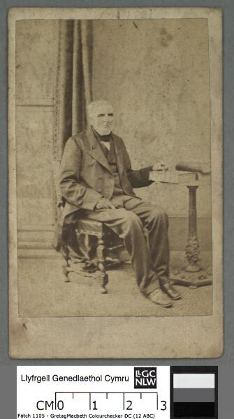Foulke Evans, Machynlleth