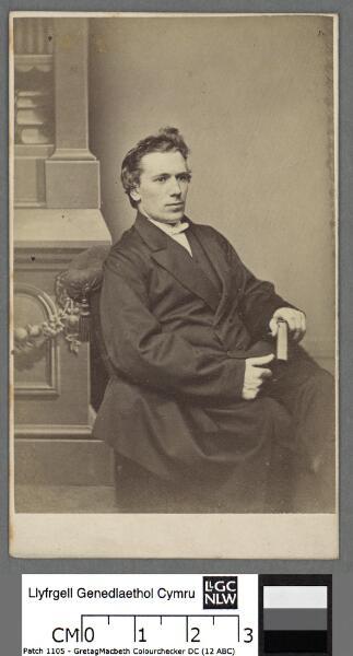 Y Parch. John Evans, Eglwysbach