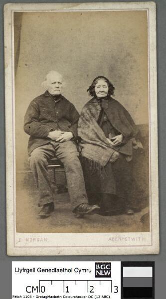 David Jenkins, shoemaker, Aberystwyth, and his...