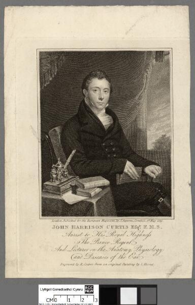 John Harrison Curtis Efqr. F.M.S aurist to his...