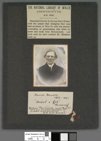 David Davies 1822-1891                      ...