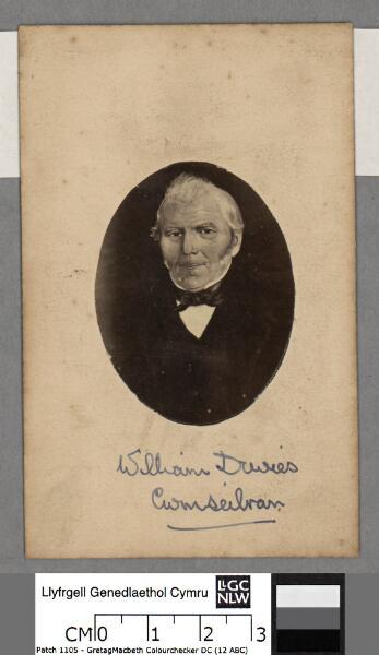 William Davies, Cwmseibran