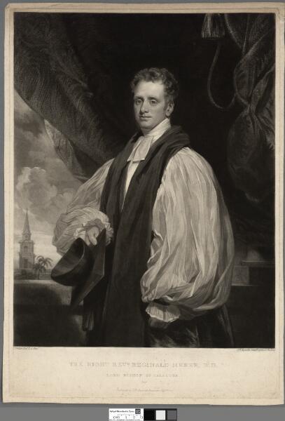 The Right Revd. Reginald Heber, D.D Lord Bishop...