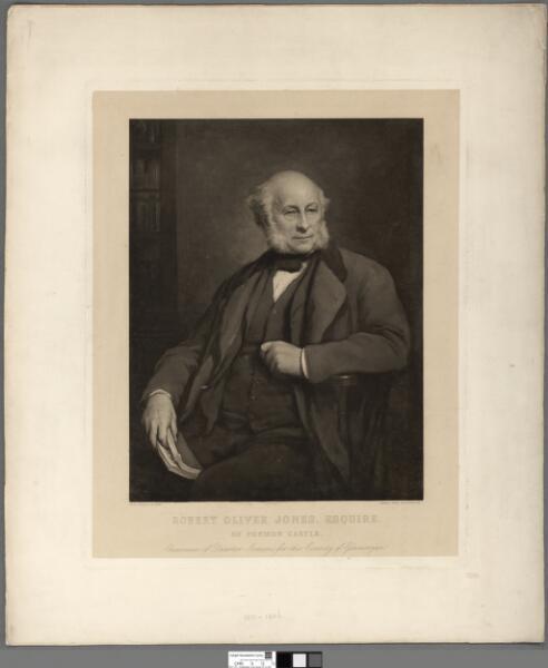 Robert Oliver Jones, Esquire. of Fonmon Castle...