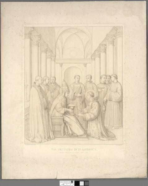 The ordination of St. Laurence