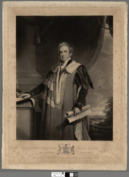 The Right Honble. Edward Pryce, Baron Mostyn,...
