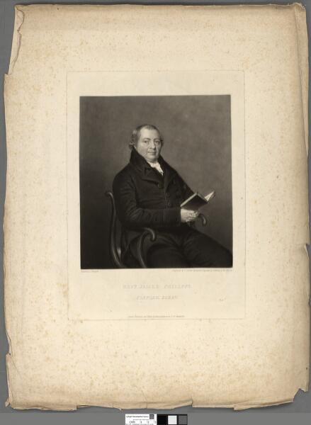 Revd. James Philipps, Clapham, Surry