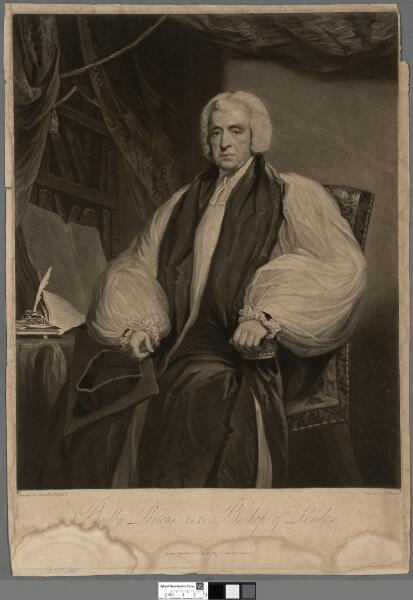 Beilby Porteus, D.D. Bishop of London