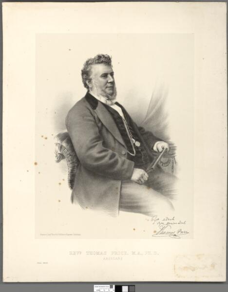 Revd. Thomas Price, M.A., Ph.D., Aberdare