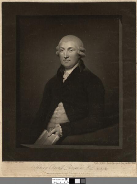 Henry Revell Reynolds, M.D. &c, &c, &c