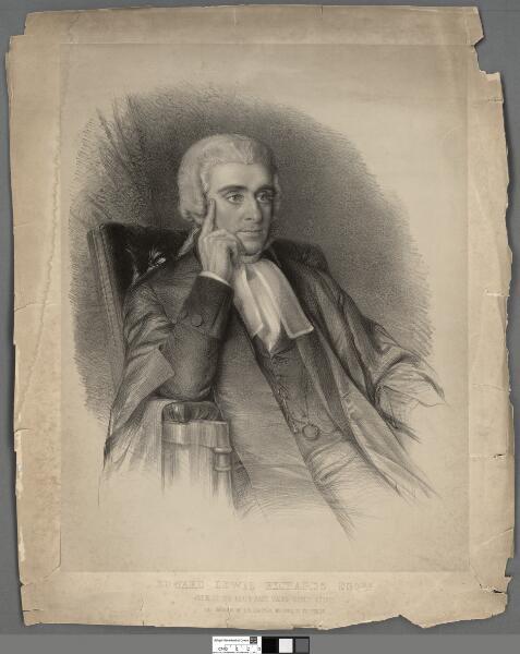 Edward Lewis Richards Esqre Judge of the North...
