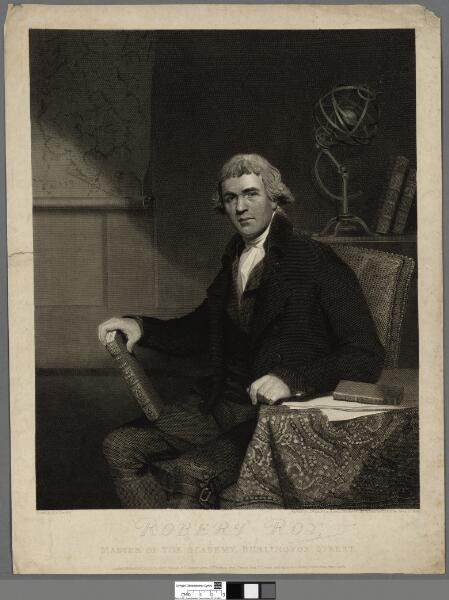 Robert Roy Master of the Academy, Burlington...