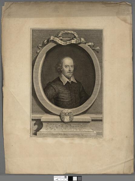 William Shakespeare Obt. Ano. Domi 1616, aetat 53