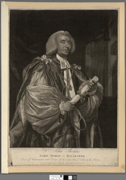 Dr. John Thomas Lord Bishop of Rochester, Dean...