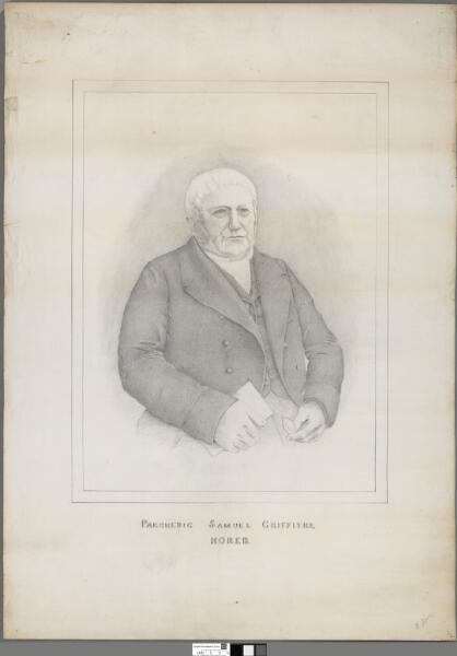 Parchedig Samuel Griffiths, Horeb