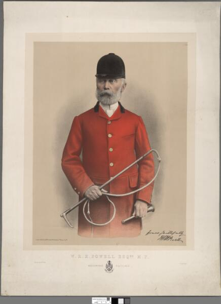 W. R. H. Powell Esqre. M.P