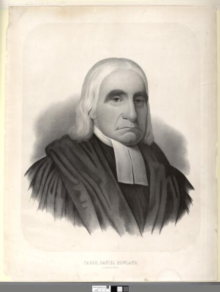 Parch. Daniel Rowland, Llangeitho