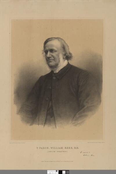 Y Parch. William Rees, D.D. (Gwilym Hiraethog)