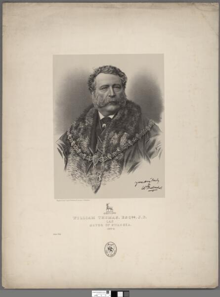 William Thomas, Esqre. J. P. of Lan            ...