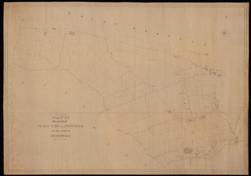 Plan of the parish of Furzy Park and Portfield...