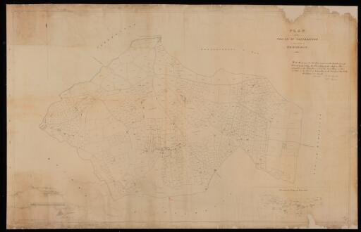 Plan of the parish of Letterstone in the County...