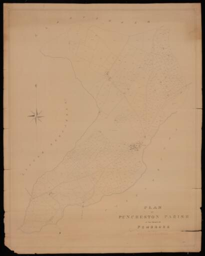 Plan of Puncheston parish in the County of...