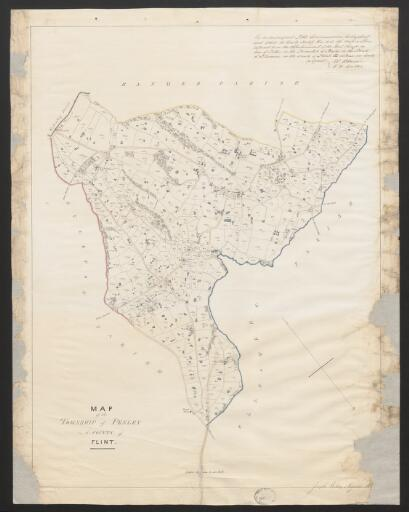 Map of the township of Penley in the County of...