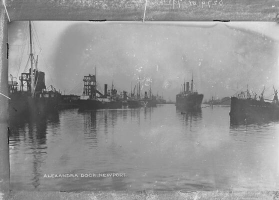 Alexandra Dock, Newport ca.1905
