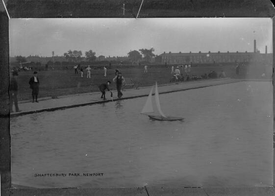 View of Shaftesbury Park, Newport
