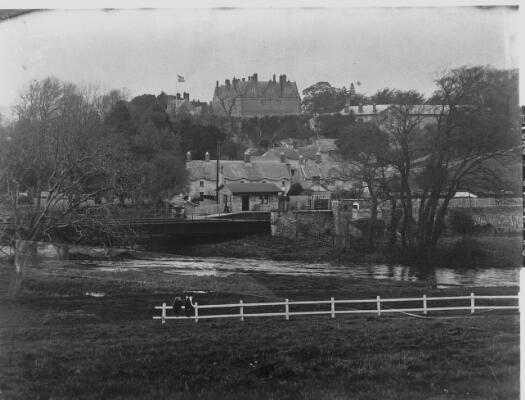View of St Fagans & Castle