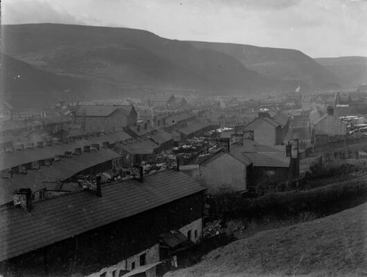 General view, Treorky, Rhondda