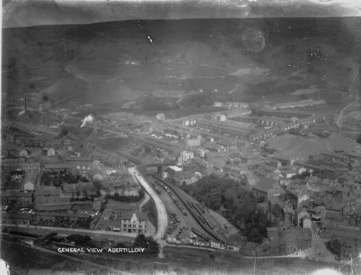 General view, of Abertillery