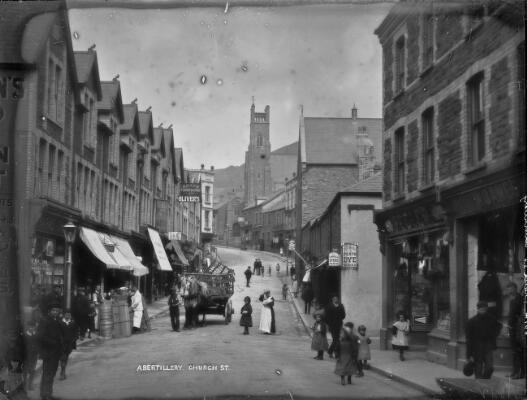 Church St; Abertillery