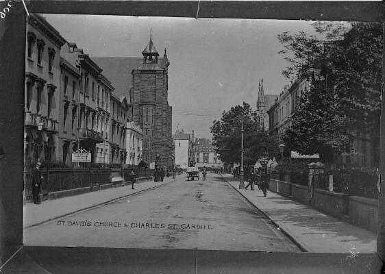 Saint David's Church & Charles St,...