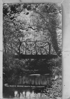 The Rustic Bridge, Roath Park, Cardiff