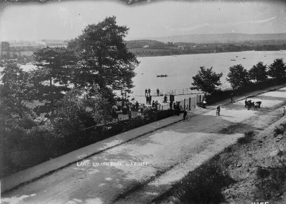 Lake, Roath Park, Cardiff
