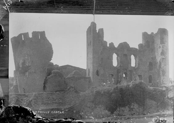 Photograph of Caerphilly Castle