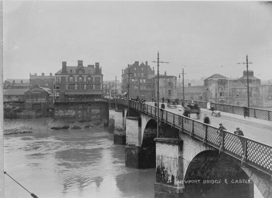 Newport Bridge & Castle