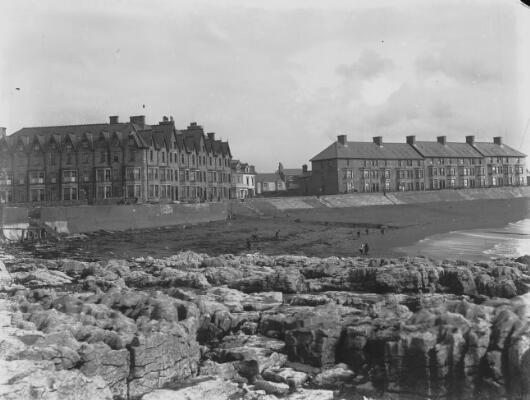 The Esplanade looking East, Porthcawl