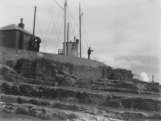 Coastguard station and lighthouse, Porthcawl
