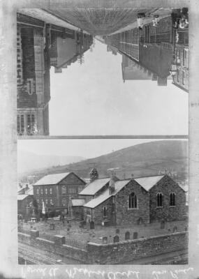 Parish Church and Baptist Church Ton Pentre