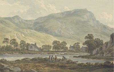 The Priory of Beddgelert, Caernarfonshire