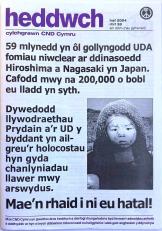 CND Heddwch 33 Haf 2004