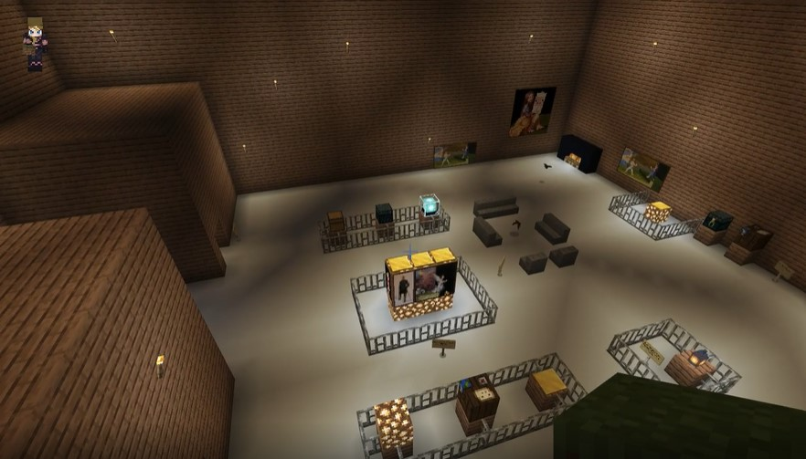 Mia Livingstone - Minecraft Your Museum...